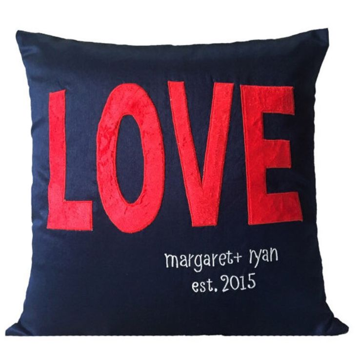 Express your love!!  Check out the anniversary pillows at The White Petals Decor