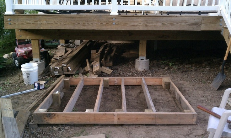 Diy Floating Deck With Pergola