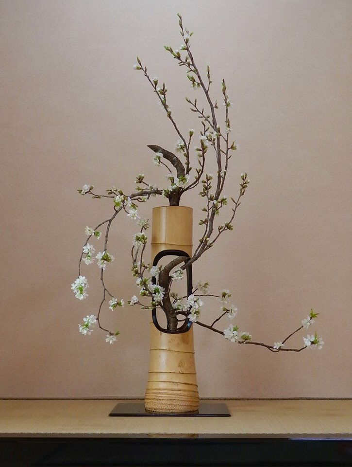 The school of Ikebana Enshu way