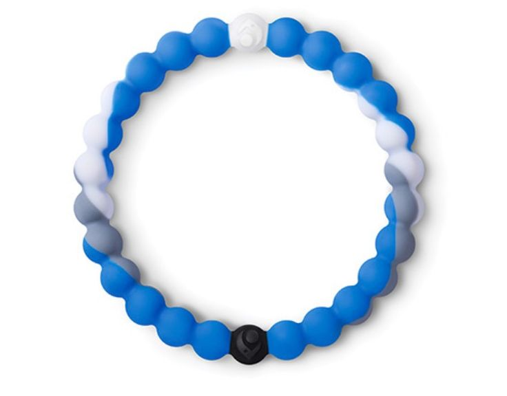 Lokai shark. In honor of Shark Week, we've partnered with Discovery Channel to help restore the ocean's balance. Together we are re-releasing the limited-edition Shark Lokai. The proceeds of the Shark Lokai will support Oceana, an organization dedicated to protecting and restoring the world's oceans. By purchasing a Shark Lokai, you are joining a movement to save a species and preserve balance both in and out of the water.