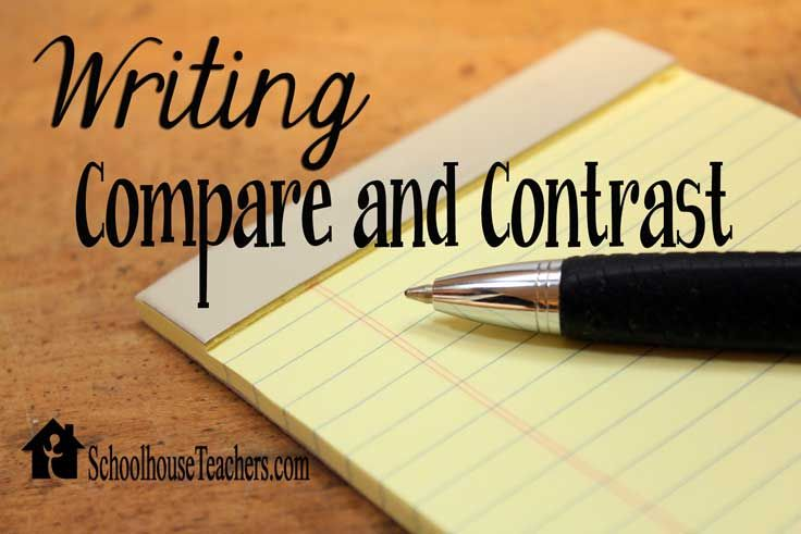 types of graphic organizers for compare and contrast essays