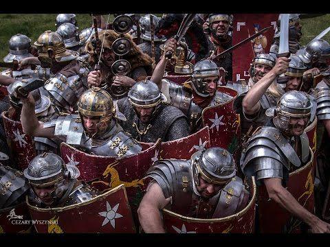 Dymarki Świętokrzyskie 2015: Legio XXI Rapax Battles - YouTube