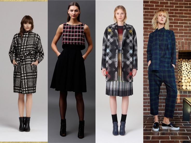 How To Style Tartan & Checks In Fall-Winter 2015-2016 ...