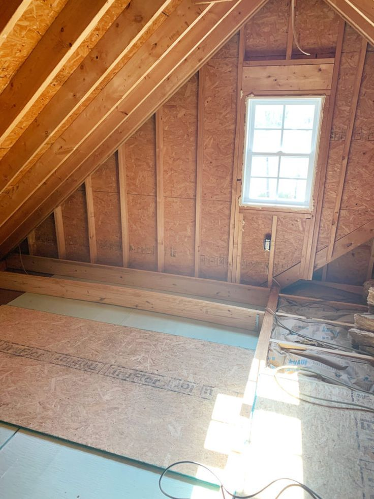 Insulating The Room Over The Garage Attic Spaces Garage Attic Office