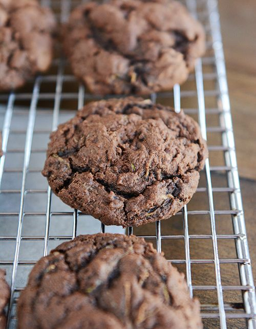 Triple Chocolate Zucchini Cookies | Mel's Kitchen Cafe