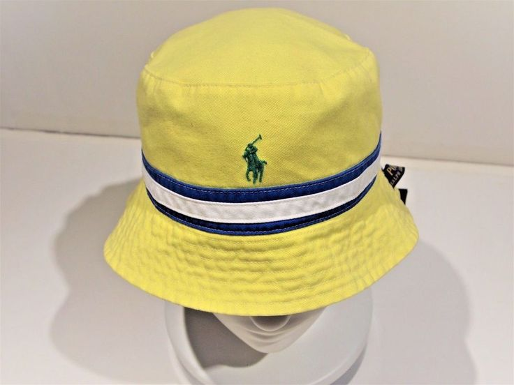 Polo Ralph Lauren men's classic bucket hat size L/XL    reversible  #PoloRalphLauren #BucketHat