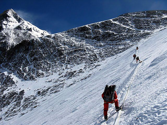 """over the geneva spur and onto the south col -- For use with Jon Krakauer's """"Into Thin Air"""" (non-fiction)"""