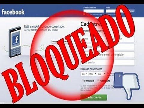 Como desbloquear o Facebook