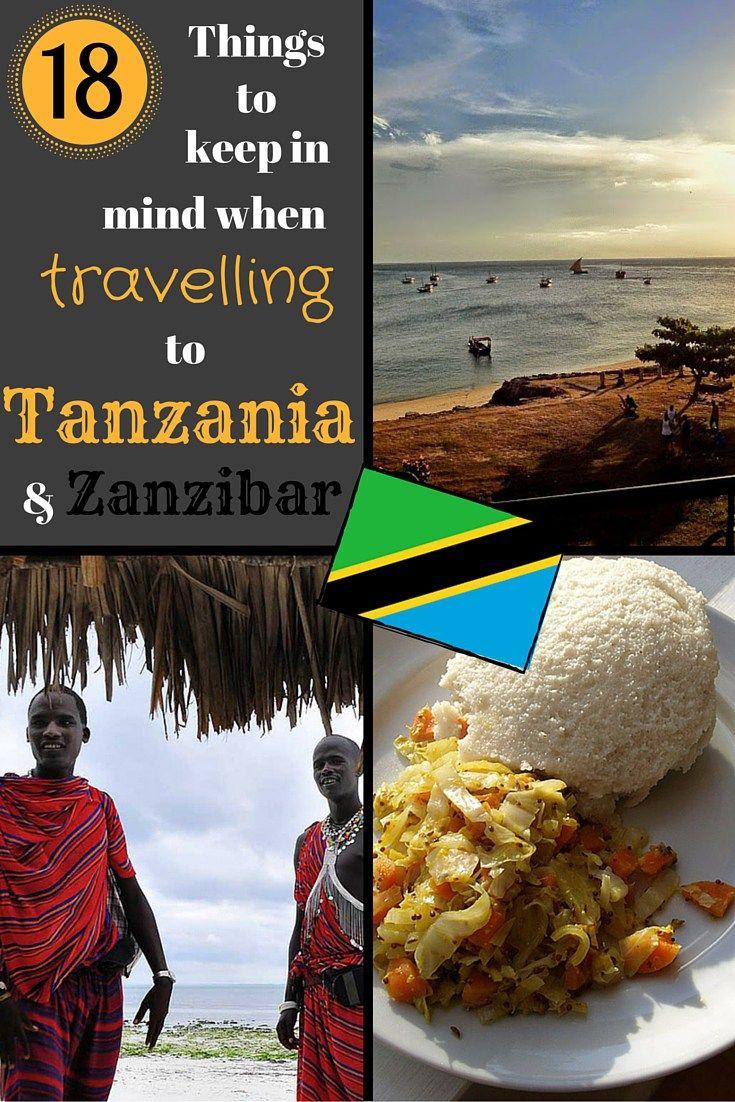 18 Dinge im Auge zu behalten, wenn nach Tansania und Sansibar reisen