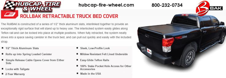 Bak Rollback retractable Truck Bed Tonneau Cover