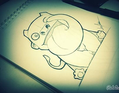 """Check out new work on my @Behance portfolio: """"Sketches"""" http://on.be.net/1DebBzU"""