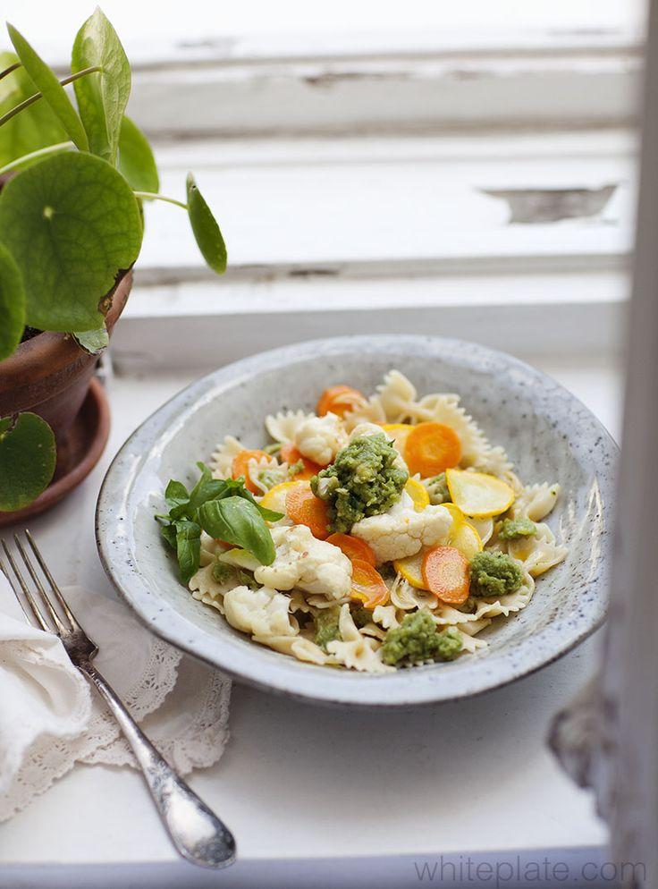 Pesto z nerkowca i bazylii