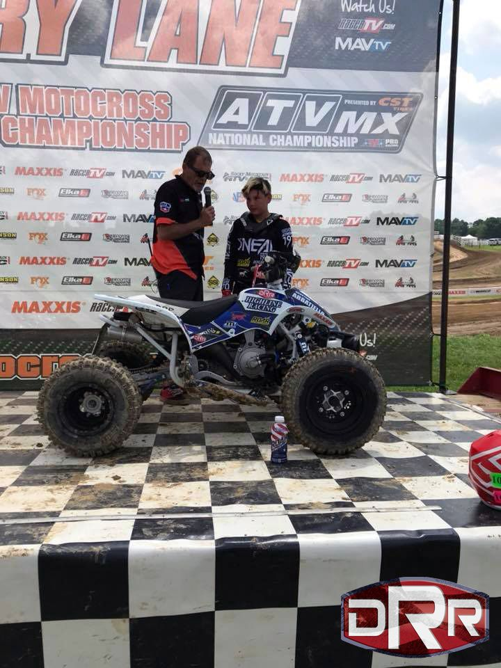 Agostino Abbatiello 100 At Highpoint Atvmx On 5 20 18 Got 1st In