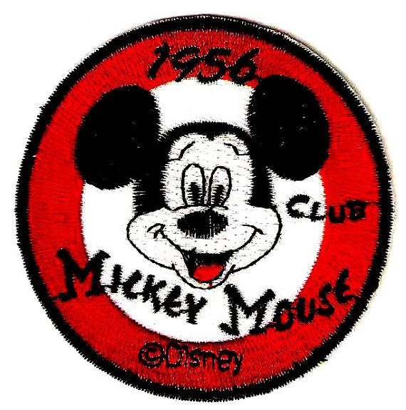 Mickey Mouse Club Logo 1956 Mouseketeer Embroidered by ...
