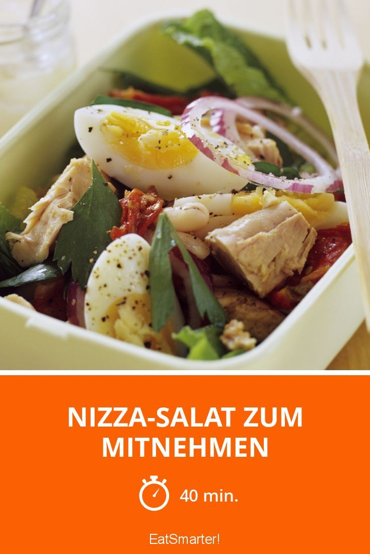 Proteinreicher Salat perfekt zum Vorbereiten für mehrere Tage!