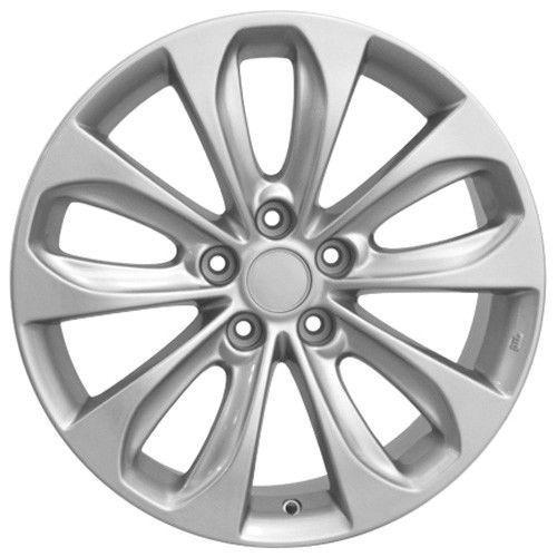"X4  Silver 18x7.5"" Fits Hyundai - Sonata Wheel BRAND NEW REPLICA WHEELS #Replica"