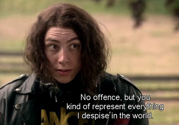 Skins :) to most people at school: