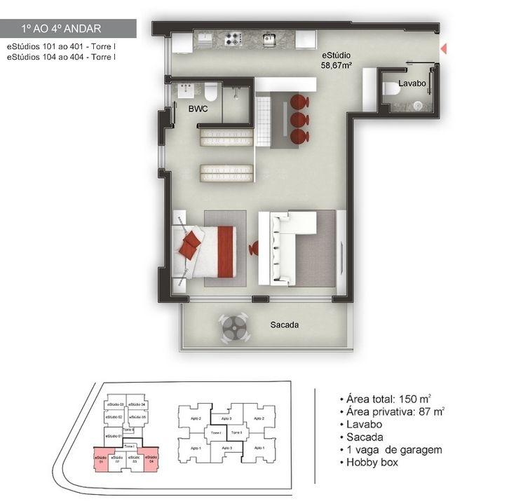 628 best Planos de Casas images on Pinterest Architecture, Floor