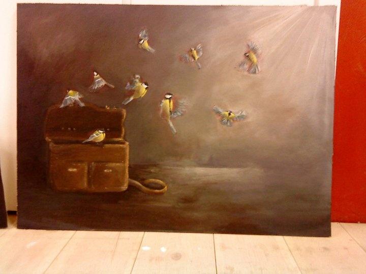 """Fåglarna"" by Ida Nyström"