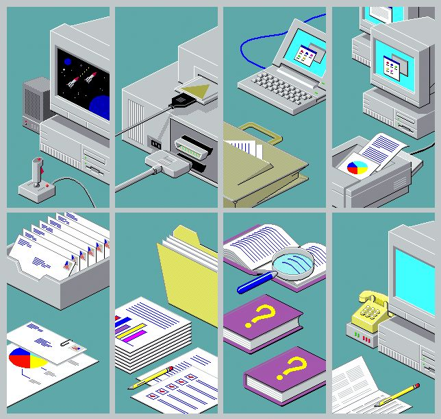 Windows 95 & 98 Installer Artwork