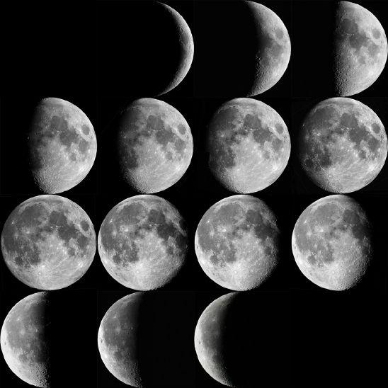 달의 위상 (Lunar Ph