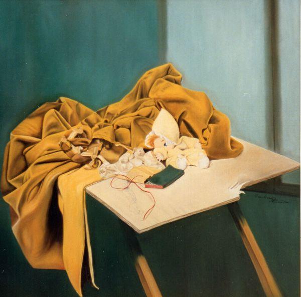Arianna - collezione privata - olio su tela 100x100