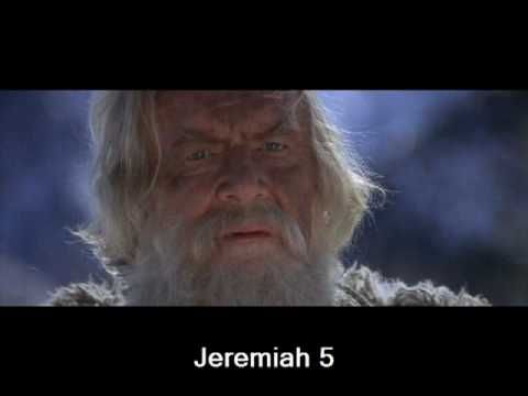 Jeremiah 5 (with text - press on more info.) - YouTube