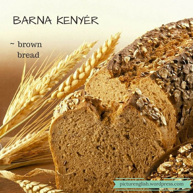 Brown bread / Barna kenyér