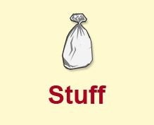 The Stuff Stop - provides resources for getting rid of your unwanted stuff