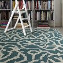 Buy Lasting Grateness-Teal carpet tile by FLOR