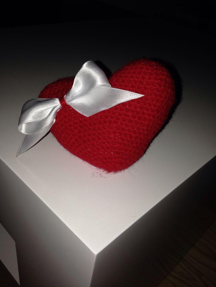 Xxl Amigurumi Hakelvorlage : Anigurumi corazon con lazo Ganchillo Pinterest