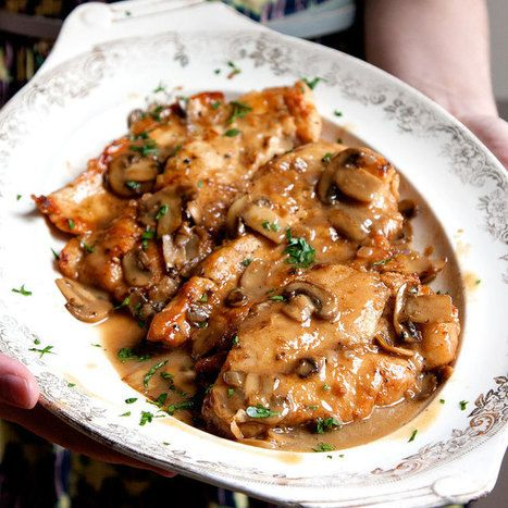 Chicken Marsala Recipe | The Man With The Golden Tongs | Scoop.it