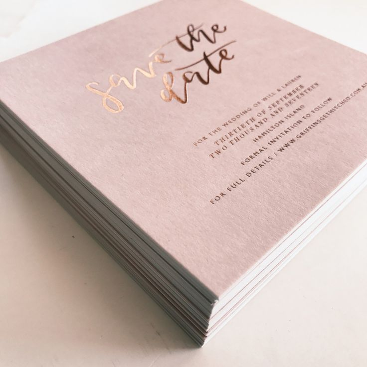 10 Wedding Invitation Suites That Will Make You Swoon