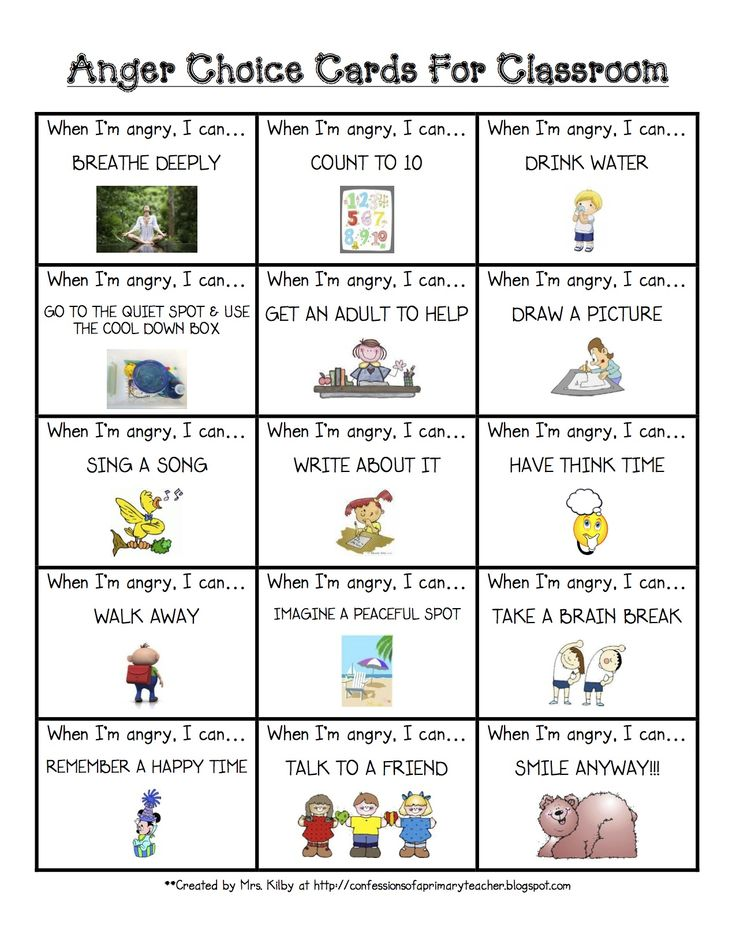 anger management activities for preschoolers simple visual that sends the right message classroom 608