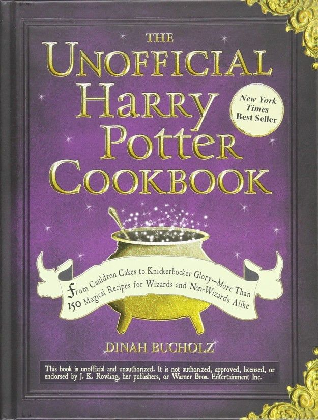 A cookbook that teaches you how to make classic Christmas desserts like treacle tart and pumpkin pasties.   31 Stocking Stuffers For Every Harry Potter Fan