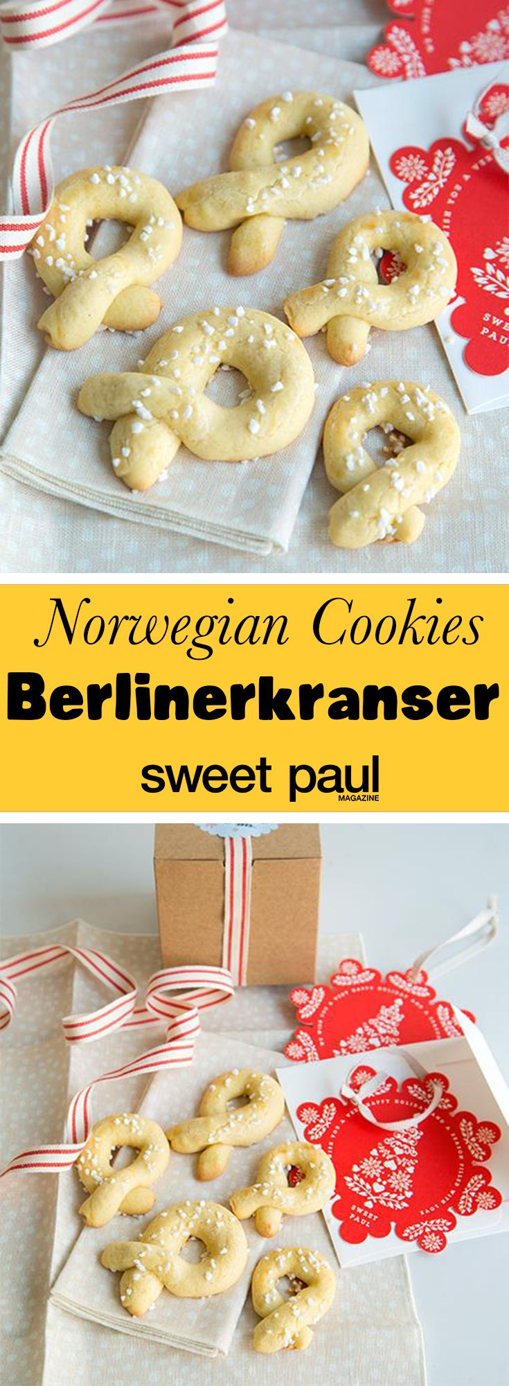 Rich and buttery holiday cookies from Norway!