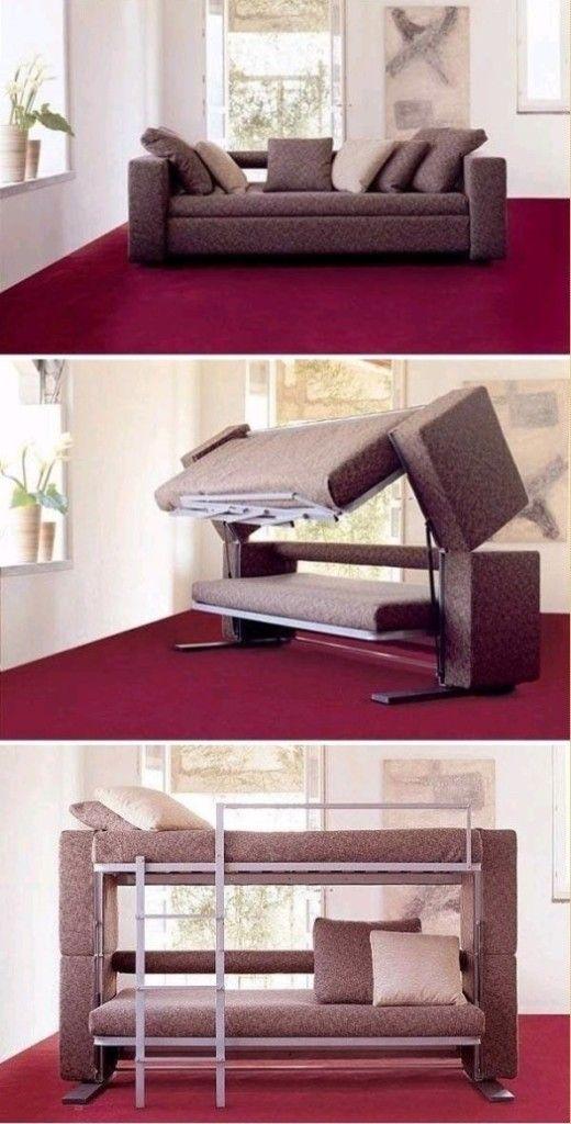 Диван-кровать в необычном понимании