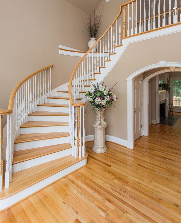 Stairwell - paint out our banisters and risers to match?