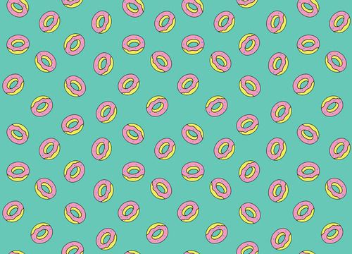 Backgrounds For > Donut Background Tumblr