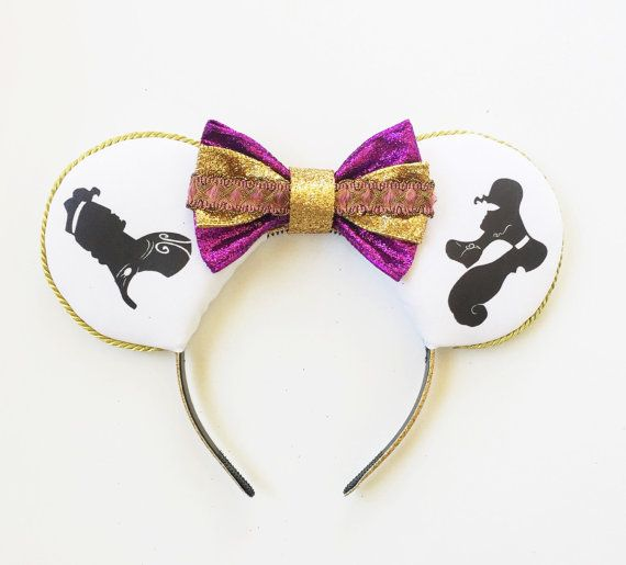 Hercules and Megara Disney Inspired Ears, Hercules Ears, Megara Mouse Ears, Minnie Ears, Silhouette Ears Headband, Mickey Ears,Ready to Ship