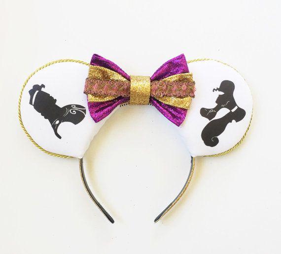 Hercules and Megara Disney Inspired Ears, Hercules Ears, Megara Mouse Ears, Minnie Ears, Silhouette Ears Headband, Mickey Ears,Ready to Ship