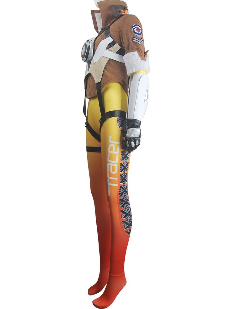 OW Overwatch Tracer outfit halloween cosplay costume carnival Lena Oxton costume toys hot game outfit deluxe