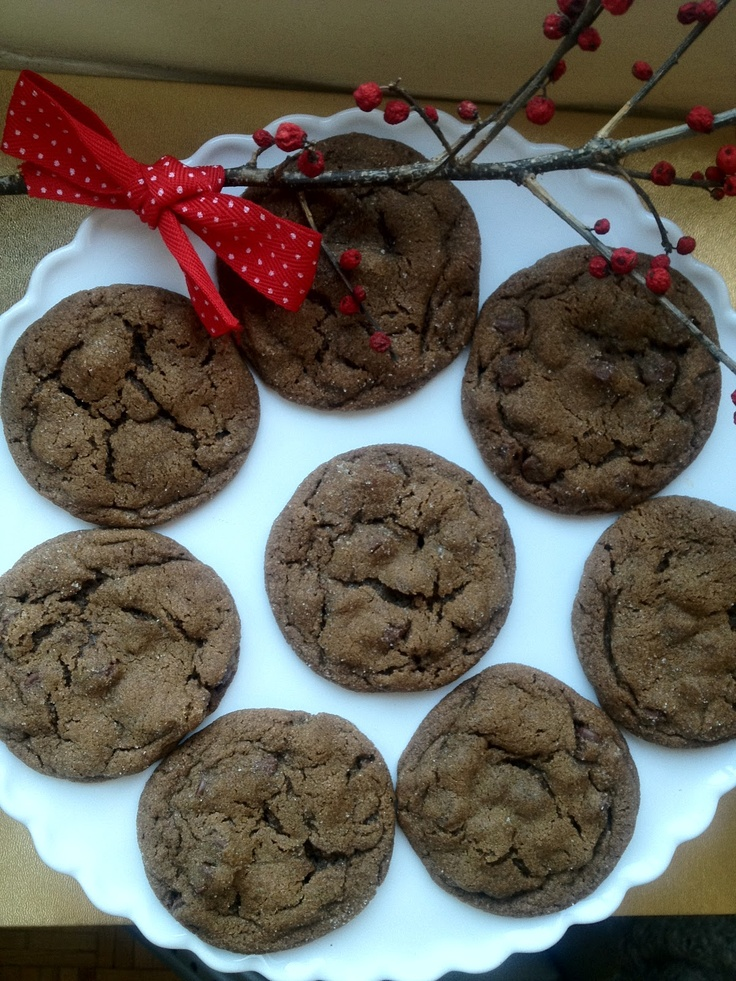 Chewy Chocolate Gingerbread Cookies | Fall/Holiday Sweets | Pinterest