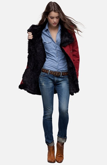 Citizens of Humanity Jeans & Laundry by Shelli Segal Anorak | Nordstrom..I'll take the body too, please.