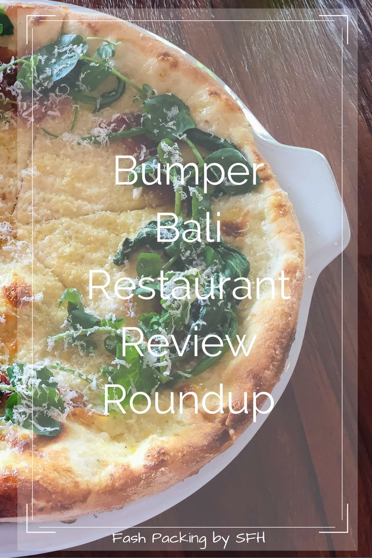 Looking for dining inspiration in Bali? My roundup of Bali restaurant reviews is a great place to start. There is truly something for everyone.