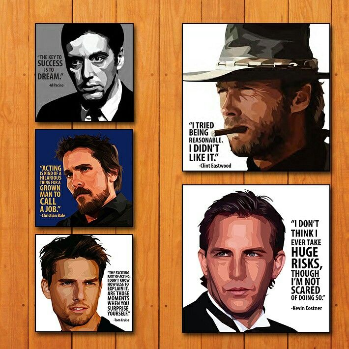"Size - 10 "" × 10 "" & 15 "" × 15 ""  DM Us or WhatsApp us directly to order now No. + 91 8691803585 Site : www.popartfactory.in  #alpacino#christainbale#tomcruise#clinteastwood#kevincostner#artwork#frames#wallart #artist#artgram#Quotes#followme#follow#like4like#picoftheday#summer#instadaily#art#instalike#tagsforlikes#igers#nofilter#follow4follow#igdaily#likes#instago#instagramers#instaphoto#hollywood#popartfactory"