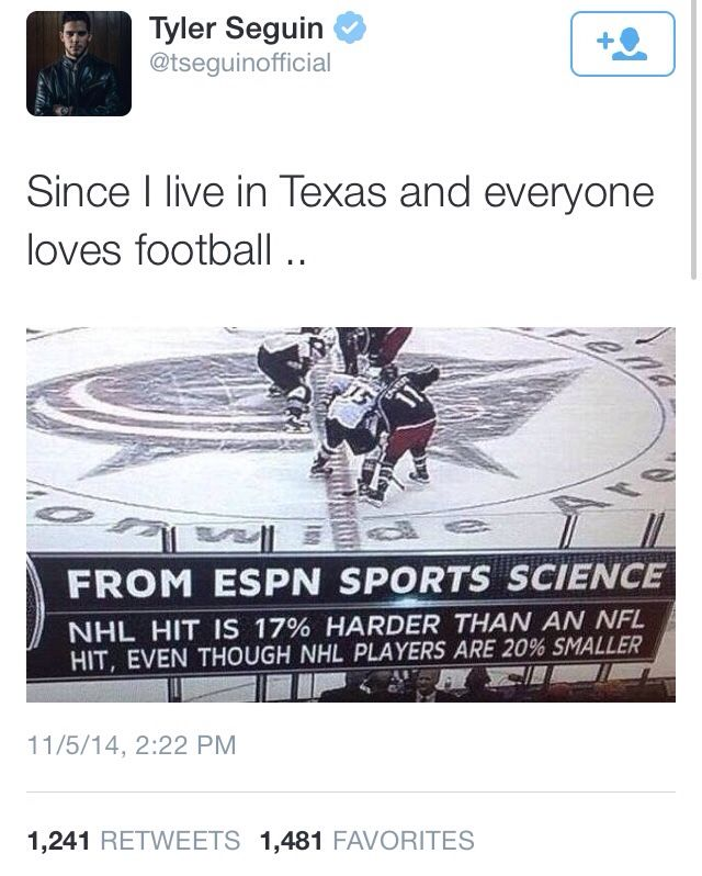 Hockey Player Tweets : Photo