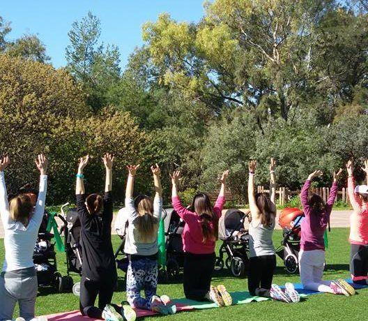 Mom's stroller, γυμναστική με καροτσάκια στο πάρκο μόνο από το Aquabirth! Κάθε Δευτέρα στις 12.00! Μάθετε περισσότερα....