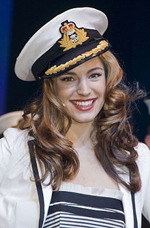 The actress and model Kelly Brook was born in Rochester and attended The Thomas Aveling School