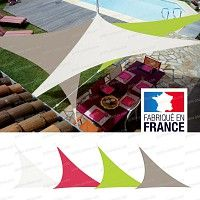 Toile d'ombrage, voile triangulaire Easy Sail 5m x 5m x 5m